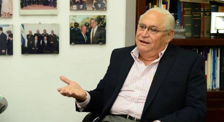 Rinden honores de Estado a expresidente Calderón Sol — El Salvador