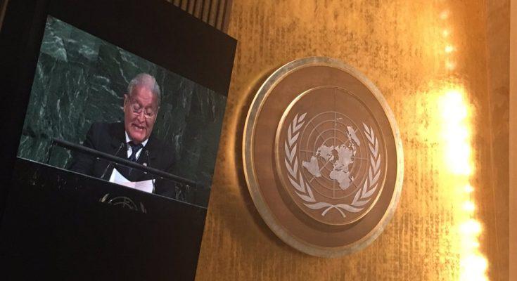 Sánchez Cerén pide prorrogar TPS en discurso de ONU