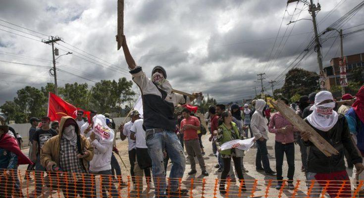 Una muerte y toque de queda tras manifestaciones violentas en Honduras