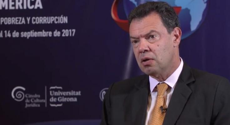 Óscar Avalle, representante del Banco Mundial en El Salvador