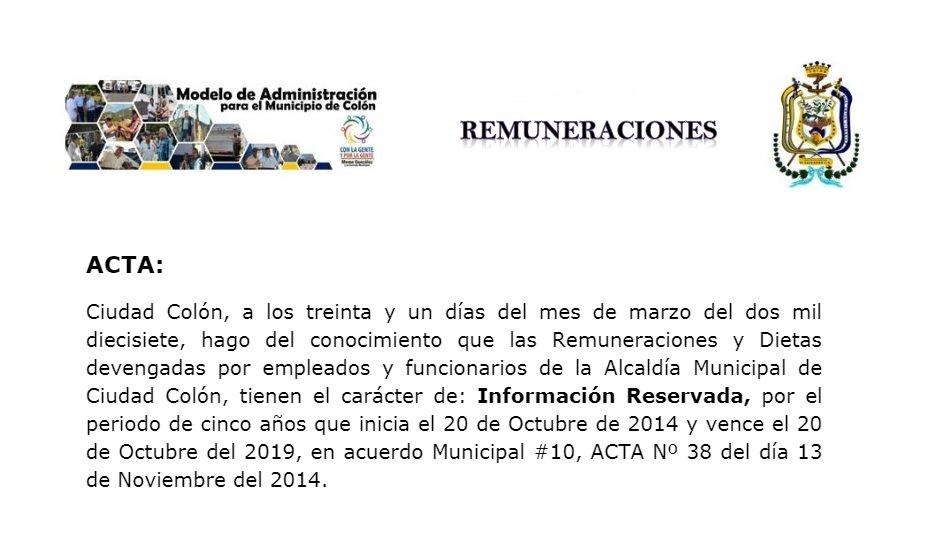 Alcalde de Colón ocultó información de su salario de $6,195 alegando inseguridad en el municipio 1